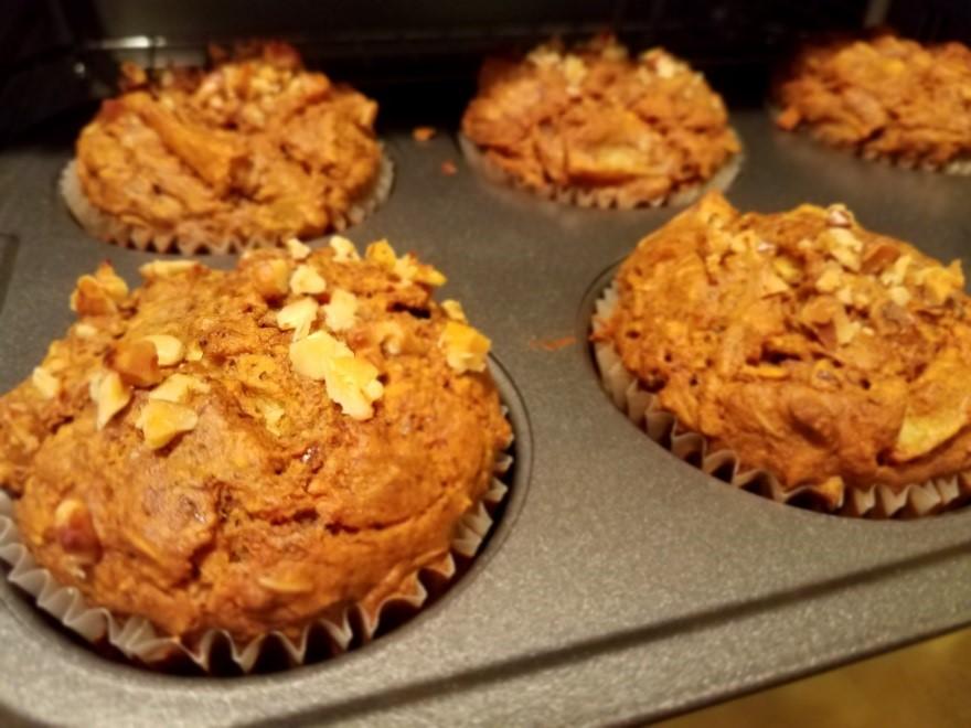 Breakfast Protein Muffins
